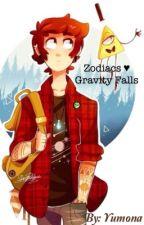 Zodiacs ❤️ Gravity falls by Marou_