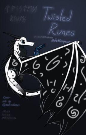 Twisted Runes -Art Book 2- by darkfirespower