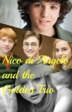 Nico di Angelo and the Golden Trio by KaylaKV