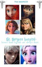 St. Burgess Hospital ( Jelsa AU) by melantha123