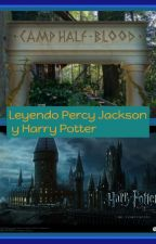 Leyendo Percy Jackson Y Harry Potter by jacksonloverrunner