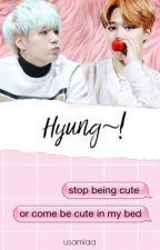 Hyung~! || Yoonmin Chat by usamiaa