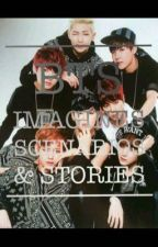 BTS imagines, stories, scenarios, smuts...  by maja6136