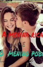 A Menina  Rica e o Menino  Pobre by julia1123445667098u7