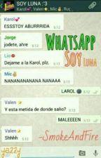 whatsapp de soy Luna y tu by lutteo-por-siempre