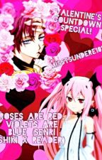 Roses are red violets are blue (senri shiki x reader) by misstsundere101