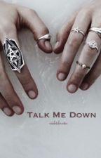 TALK ME DOWN ➵ Wanda Maximoff by -violetdevotee