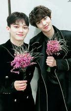 Antara Jongdae dan Chanyeol by chen21ina