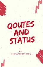 Quotes and Status by rheadats