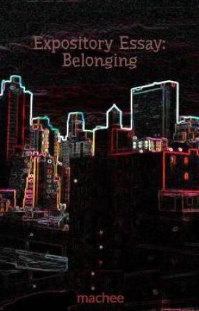 expository essay belonging wattpad expository essay belonging
