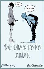 - 90 Días Para Amar - (Mikuo y Tu) by Cherryblue-