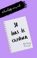 30 días de escritura. by booksforevah