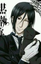 Meow Sebastian X Neko Reader by crazygirl574