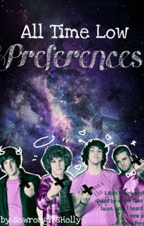 All Time Low Preferences by sowrongitsHolly