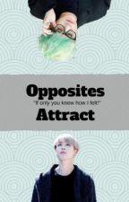 Opposites attract ||  yoonmin  by Jadeeeykins
