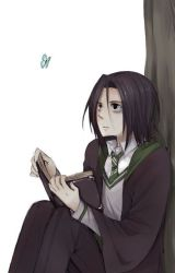 (Young) Severus Snape x reader by inspirational-nobody