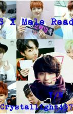 BTS X Male Reader  by Crystallights437375