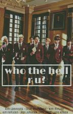 who the hell r u? || tae x unknown by rapiscyeah