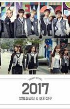 TOGETHER FOREVER ( GFRIEND & BTS )  by riskiwulanfy