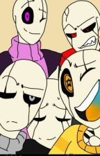 Ma Vie Avec 5 Gasters by lawliet963