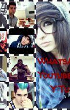 WhatsApp Youtubers Y Tu by Kuroi_Kumo
