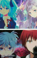 The Assassins In Love  [Nagisa X Oc & Karma X Oc] by Ayaka_Donuts