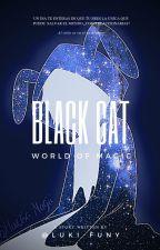 Black Cat  ( fnafhs, sprintrap y tu ) by LukyFuny