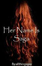 Her name is Saga. |Lothbrok brothers| Vikings| by allthingsgay