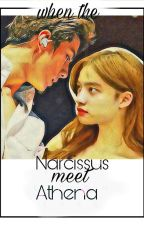 When the Narcissus meet Athena by LaBlueChoco