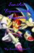 SonAze: Espresso with bayonetta  by SonAmyGuy