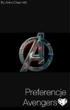 Preferencje Avengers by AkinoChan148