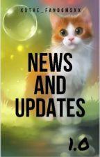 News & Updates 1.0 by XxThe_FandomsxX