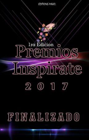 Premios Inspirate 2017 //Inscripciones Cerradas// © by Premios_Inspirate