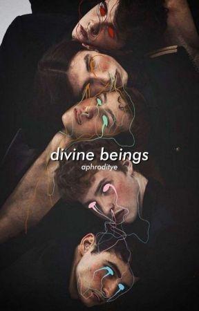 DIVINE BEINGS ( myth. au ) by aphroditye