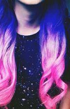 la chica del pelo galaxia #fnafhs y tu# by richdoll3101
