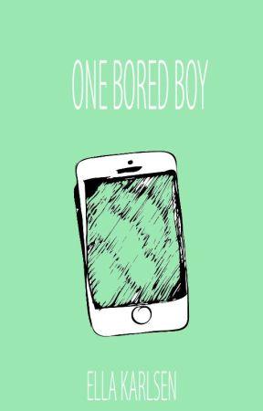 One Bored Boy by write0013