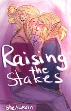 Raising the Stakes; Zelink Coffee Shop AU (The Legend Of Zelda) by Sheikahzen