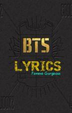 BTS Lyrics by FemmeGorgeous