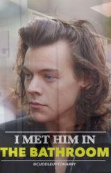 I MET HIM IN THE BATHROOM // l.s by cuddleuptoharry