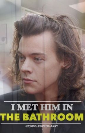 I MET HIM IN THE BATHROOM // l.s by cuddleuptoharry