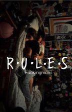 Rules  #Wattys2017 by fuckingnice