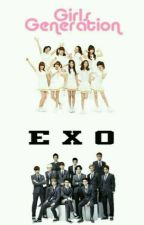 Girls Generation and Exo (on-going) by Bluefyy