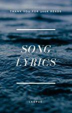 Song Lyrics by leopae