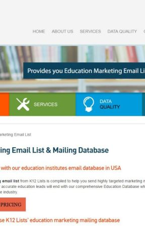 Education Institutes Email Database in USA - Email list of