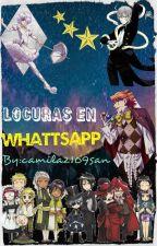 Locuras en Whattsapp (Kuroshitsuji I, II, III) by camila2109san