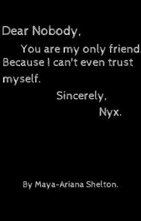 Dear Nobody. by Pastel_Queenling