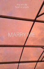marry me ; scorbus by cursedcosmos