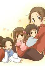 Hetalia: Ask Dare Asia family (gia đình châu Á) by yoshikakori