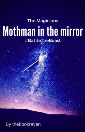 Mothman in the mirror by thebookraven
