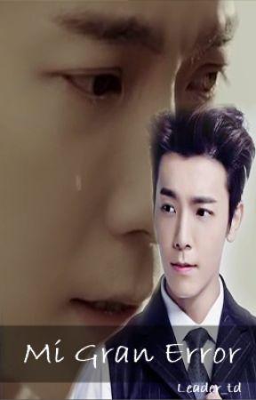 Mi Gran Error (Donghae Y Tú) [Terminado] by Leader_td